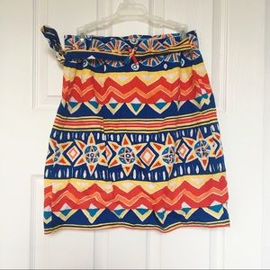 Vintage Breeches Wrap Around Skirt-Size L